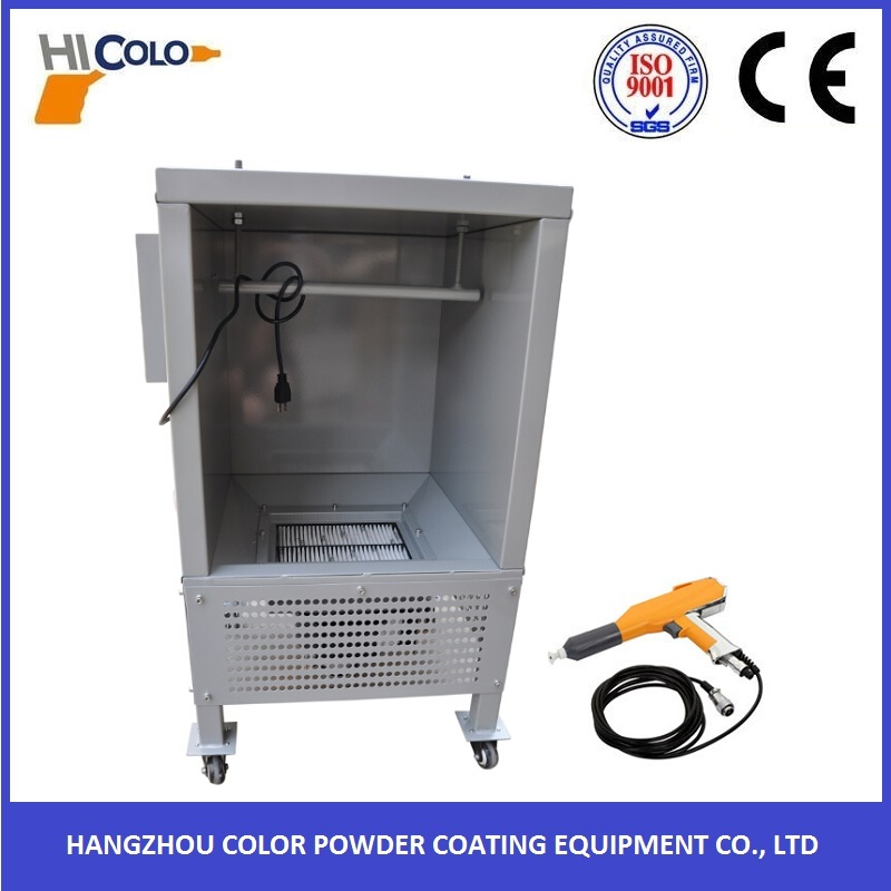 COLO Small Type Spray Booth for Powder Coating Use