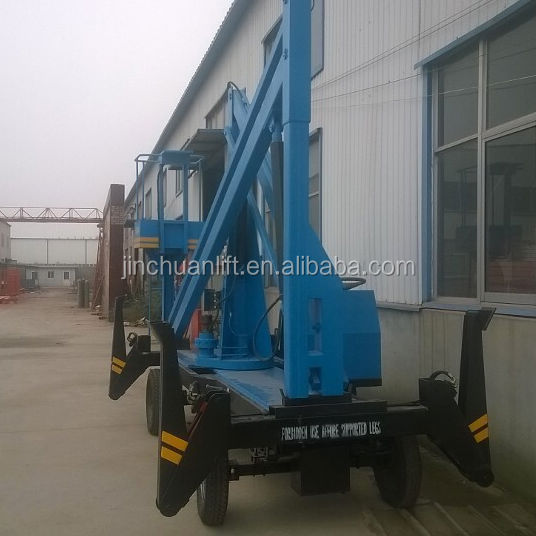 200kg Hydraulic Genie Lift Mobile Telescopic Boom Lift