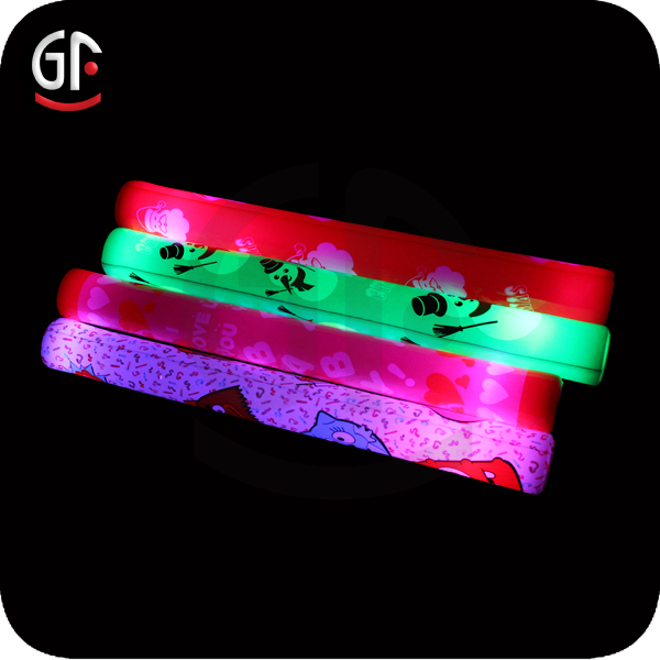 Birthday Party Items Logo free Led Gift Flashing Foam Glow Stick