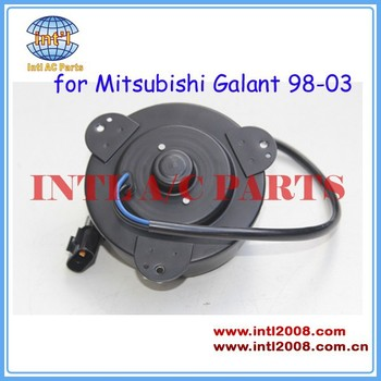 A/C Condenser Fan Motor for Mitsubish Galant/Mirage/Eclipse/ LANCER 1998 - 2003  MR31578 clockwise blower fan motor