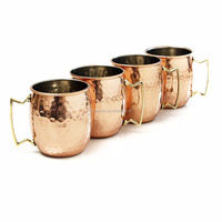 Hot sell 16 oz moscow mule mug copper mint julep cup