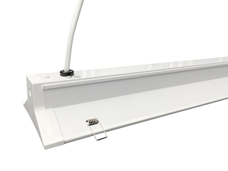 ETL DLC approval 40w 5 year warranty hallway ceiling lamp modern dimming recessed led linear office light