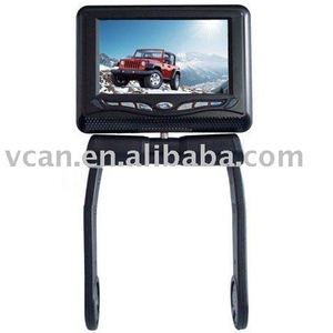 8.5 inch central armrest TFT LCD monitor with DVD player