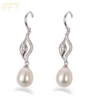Hot sale high quality 925 sterling silver earring components
