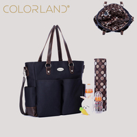 Colorland Daddy Style Classic Nappy Mommy Baby Tote Maternity Bags