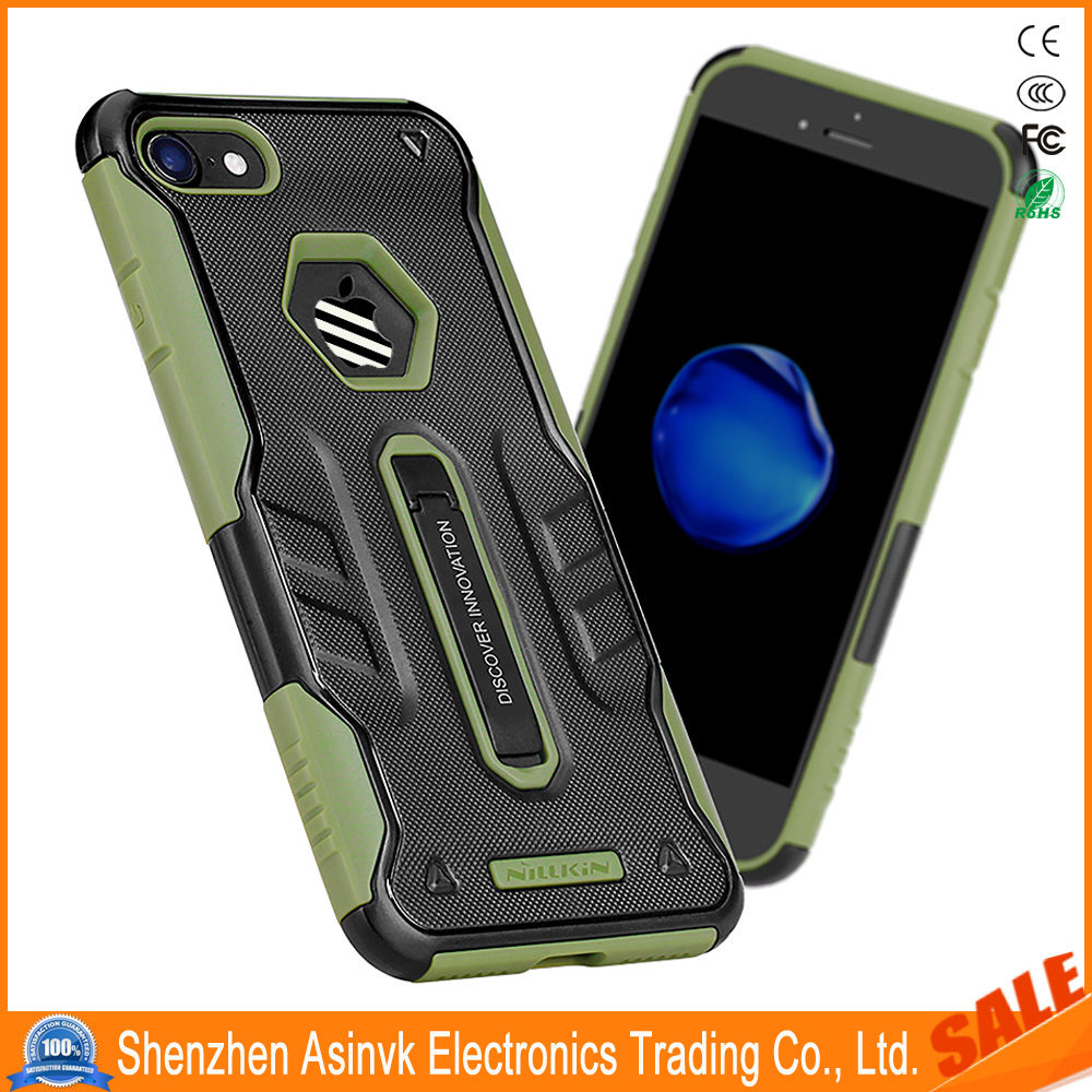 Nillkin Original Defender 4 Case Hybrid Armor Shockproof with Kickstand for iPhone 7