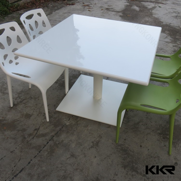 Acryl solid surface cafe meubels olifant tafel