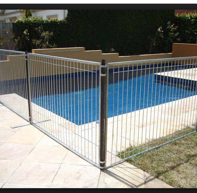 High Safety Hot Dip Galvanized Removable Swimming Pool Fence (direct  Factory),Pool Fence Portable,Mesh Swimming Pool Fence - Buy Removable  Swimming ...