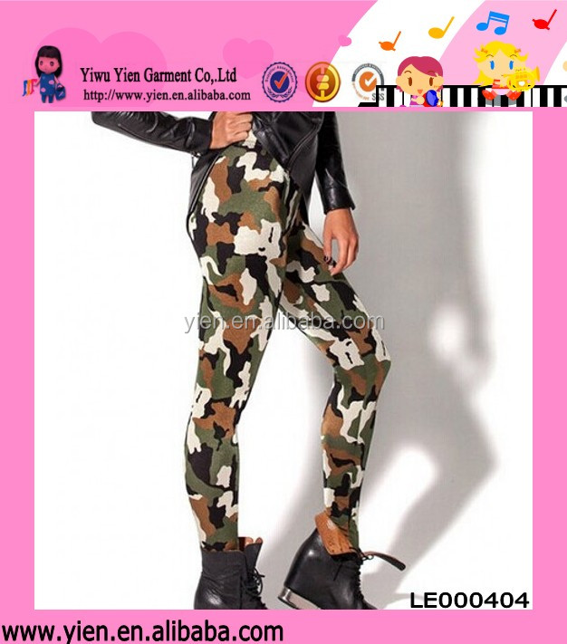 2014 Camouflage Digital Wholesale Military-Style Leggings