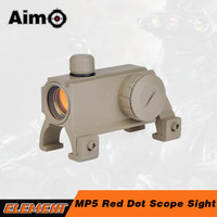 AIM-O MP5 Red Dot Scope Sight Rifle Scope 1x20 Weapon Sight for airsoft HK MP5 G3 G36 AO3016