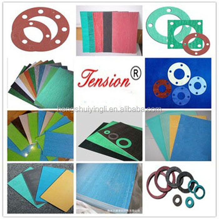 Factory Free Asbestos Fiber And Natural Rubber Compressed Paronite Gasket Sheet For Steam
