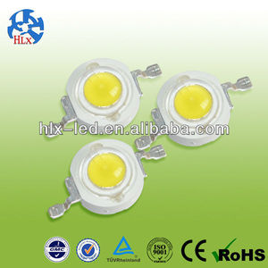 100-120lm Epistar/Bridgelux 1w high power led &3watt high power led diode used for the marine and fresh water aquarium industry