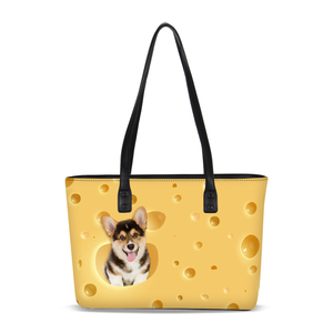 Wholesale 2018 trendy pu leather material waterproof tote bag for travelling