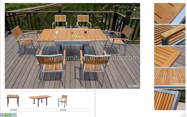 outdoor tavolo da pranzo e sedie per esterni sesso mobili elementi ... - Alluminio Sedia Imbragatura Per La Decorazione Del Patio