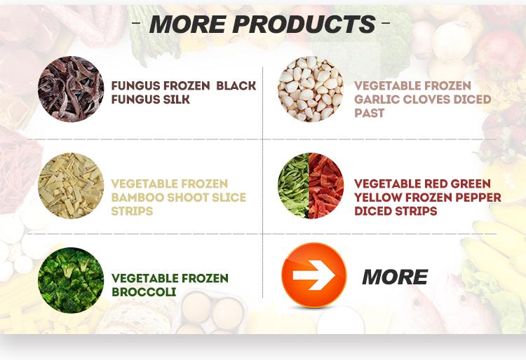IQF frozen water chestnut frozen vegetable