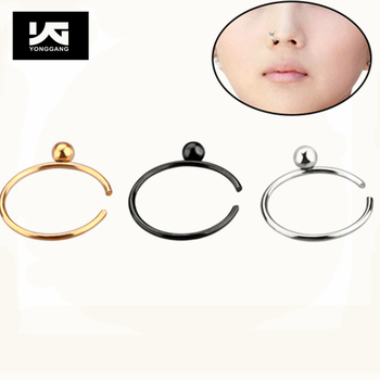 Fashion Jewelry Nose Ring Cute Nose Piercing Jewelry Stainless
