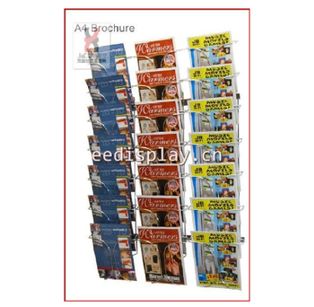 Wire wall rack display greeting card data wiring wall mounted chromed metal wire magazine greeting card display rack rh alibaba com greeting card display holder greeting card display racks wholesale m4hsunfo