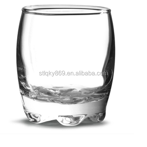 ball shot glass with shaped bottom shot glasses China manufacture Lead free personal shot glasses