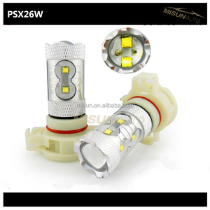 car LED psx26w fog lamp light white yellow red