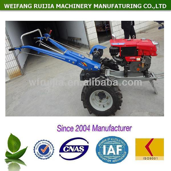 2 Wheels Power Tiller Copy Kubota Japan Tractor With Implements ...