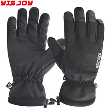 New arrival Best heated Warmest winter gloves 3M Thinsulate Lined Waterproof ski gloves manufacturer