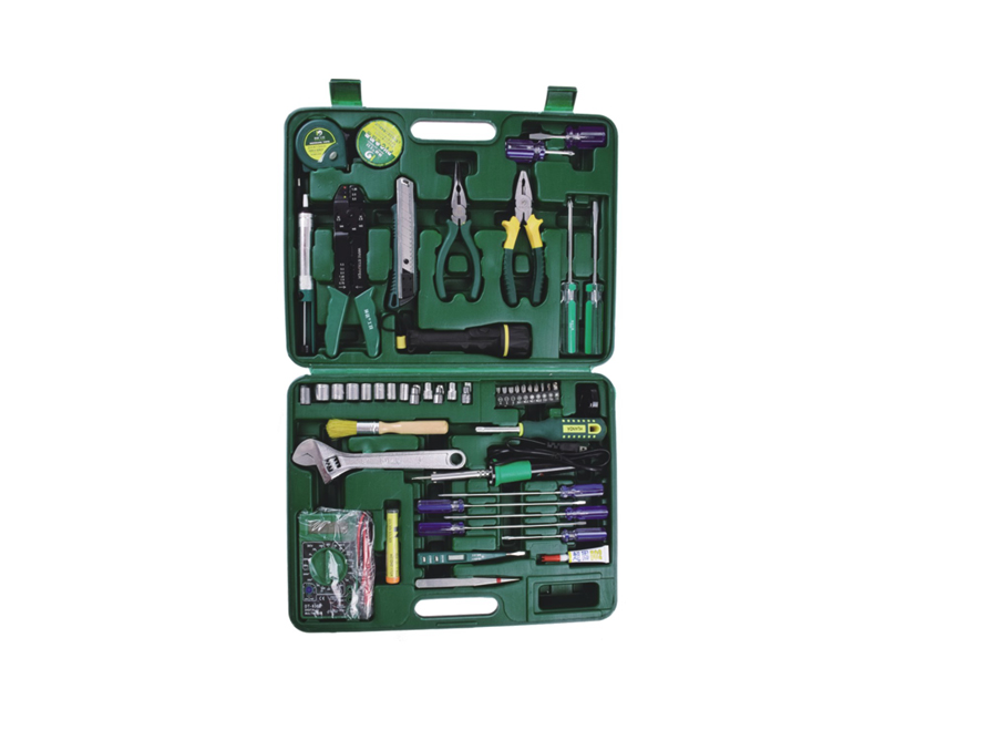 Quality handle tools 51pcs Telecommunication tool set tool kit