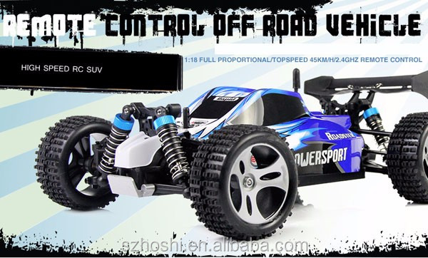 A959 1 / 18 Scale 2.4G RC OFF - RC Road Racing Car with Anti - vibration System - EU PLUG
