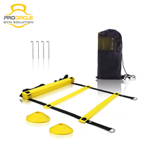 Football & Soccer Quick Flat Rung Speed Agility Ladder With Carry Bag Training Equipment