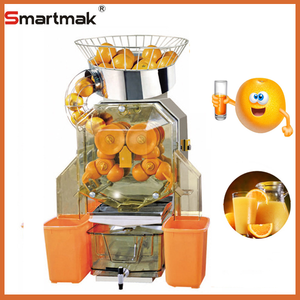 Fresh fruit juice maker can can automatic orange juicer machine