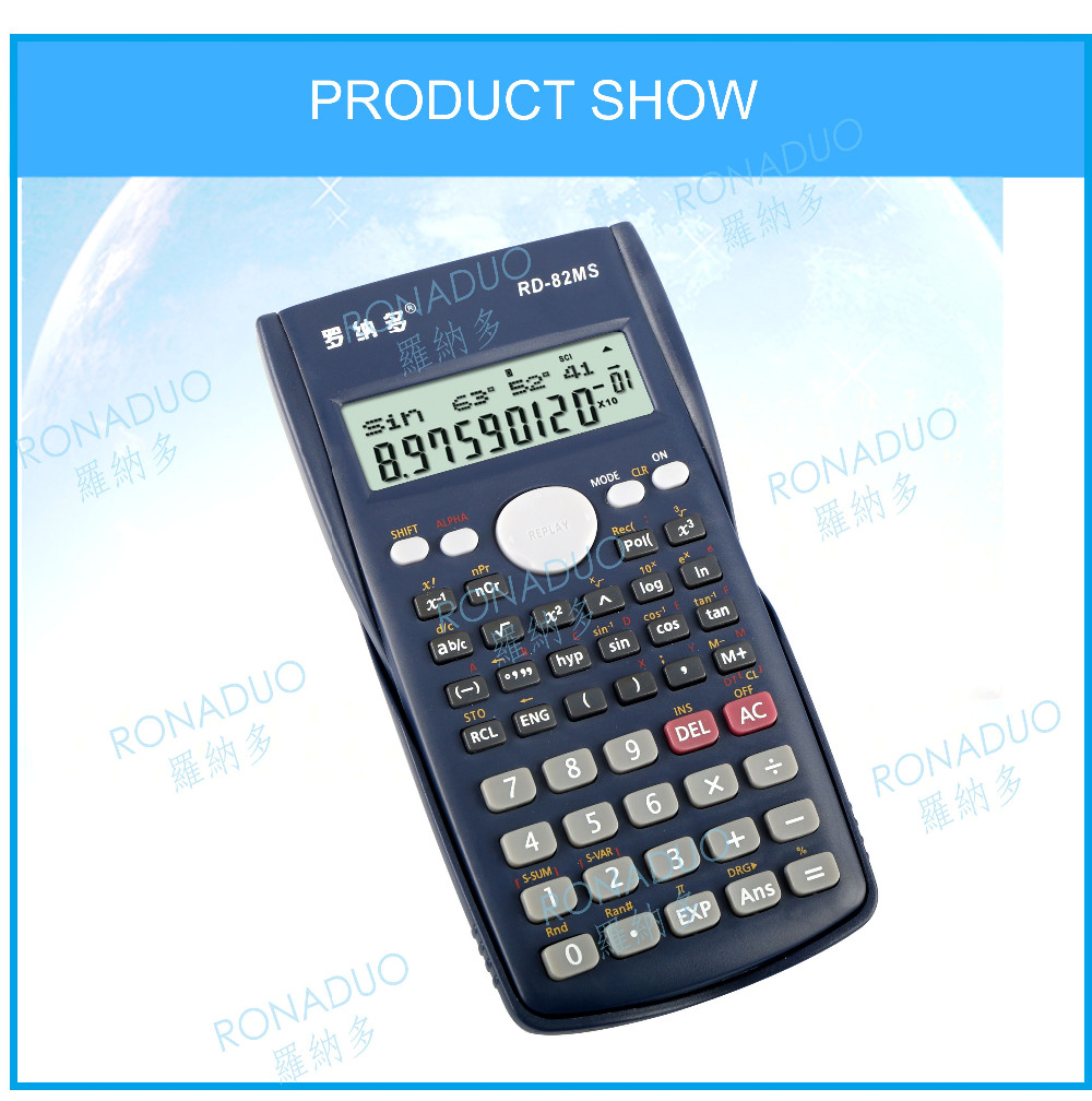 back to school 240 functions scientific 82ms more perfect scientific promotional scientific models calculator