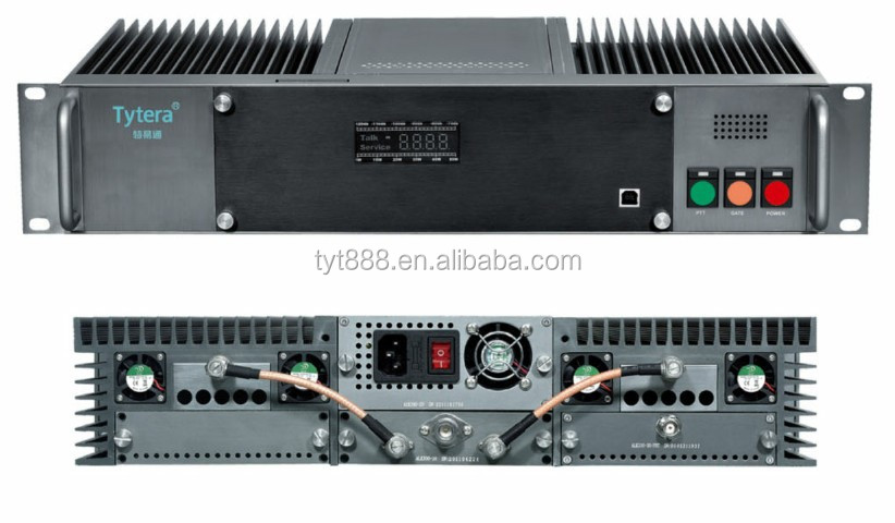 TYT digital dmr vhf uhf repeater with Mototrbo IP site