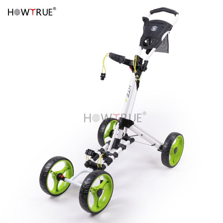 Licht-gewicht Golf Trolley vier-Rad Design & golf trolly & golf trolly in golf wagen