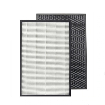 Air Purifier Coconut Honeycomb Hepa Activated Carbon Filter For Sharp KC-D50-W, KC-E50, KC-F50, KC-D40E