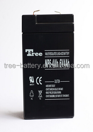 free maintenance 6v 7ah rechargeable lead acid battery, AGM /SMF/ VRLA /SLA/lead acid battery 6V 7AH