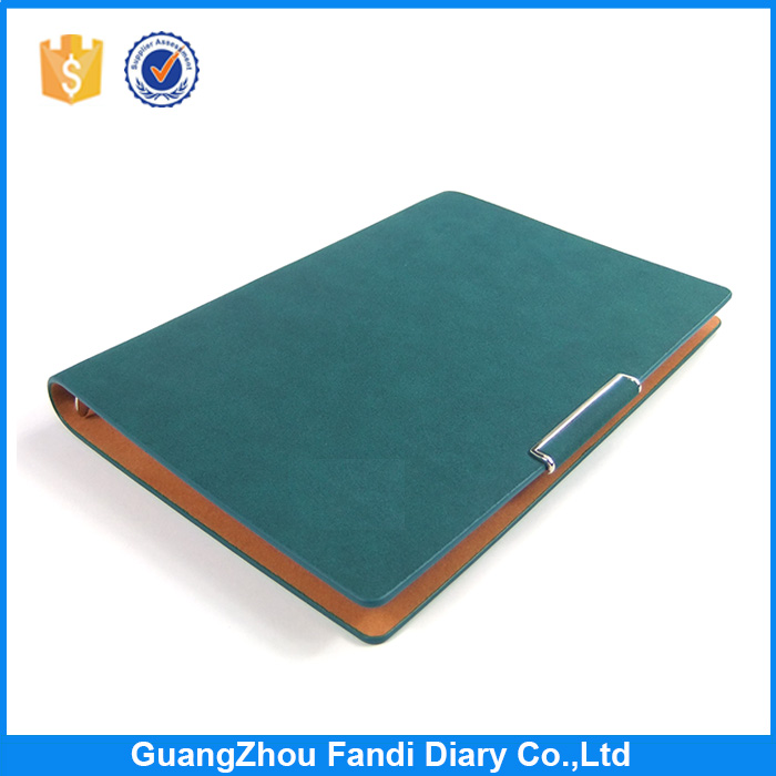 Custom notebook leather office stationery