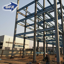 Multi Purpose Prefab High Rise Steel Structure Commercial Buildings