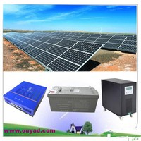 5000W complete set solar power system/5kw home solar power system with best price and shipment cost