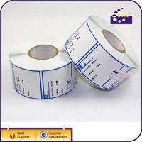 Direct Thermal Printer Parcel Labels self adhesive sticker Zebra 4 x 6 paper
