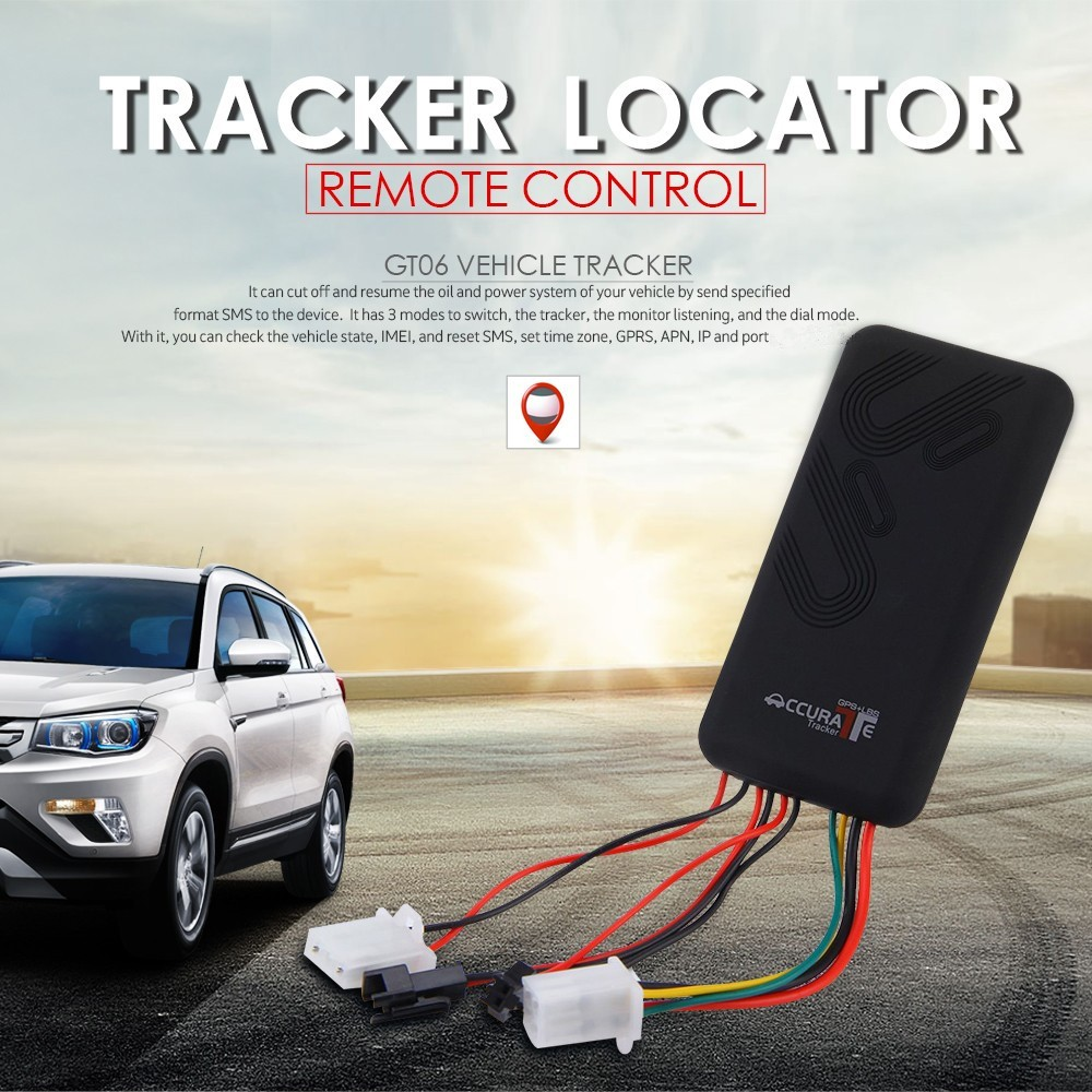 Real Time Ios & Android App Accurate Vehicle Tracker Manual Gt06 Gps  Tracker For Cars - Buy Gps Tracker For Cars,Ios & Android App Gt06 Gps  Tracker
