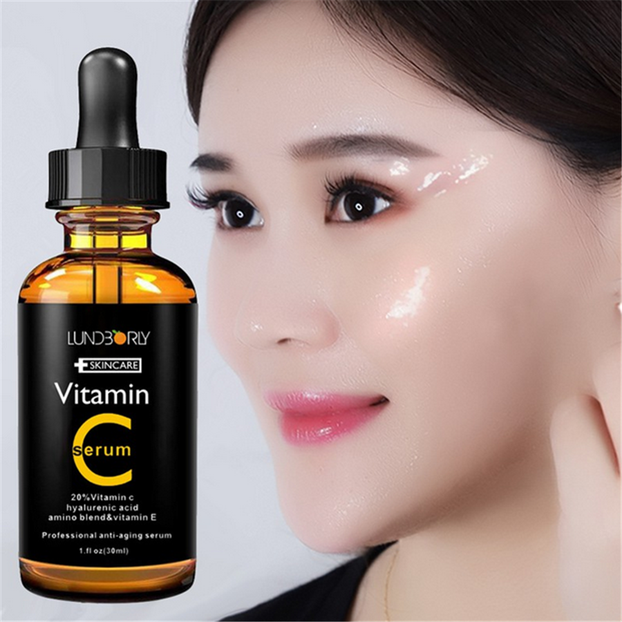 30 ml Repair Skin เซรั่ม Retinol Vitamin C Serum Firming Anti Wrinkle Anti Aging Anti Acne Serum Skin Care ฉลากส่วนตัว