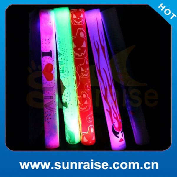 Customized Logo foam cheer stick concert tools
