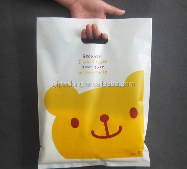 Biodegradable LDPE Plastic Shopping Bag