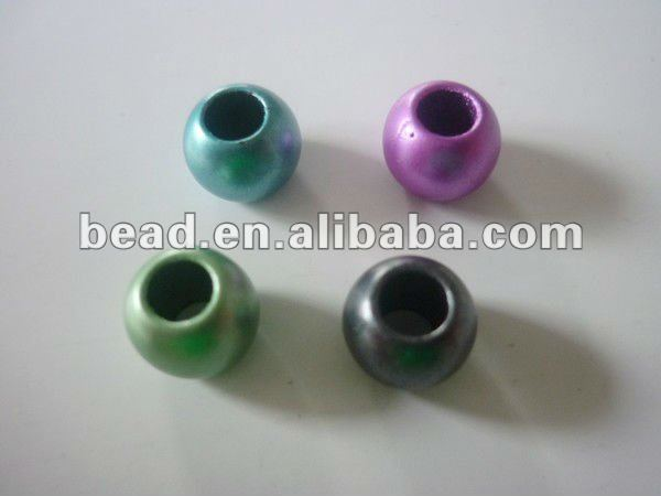 acrylic pony beads for jewelry