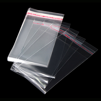 Different Size Clear Transparent OPP Self-Adhesive Plastic Poly Bag^