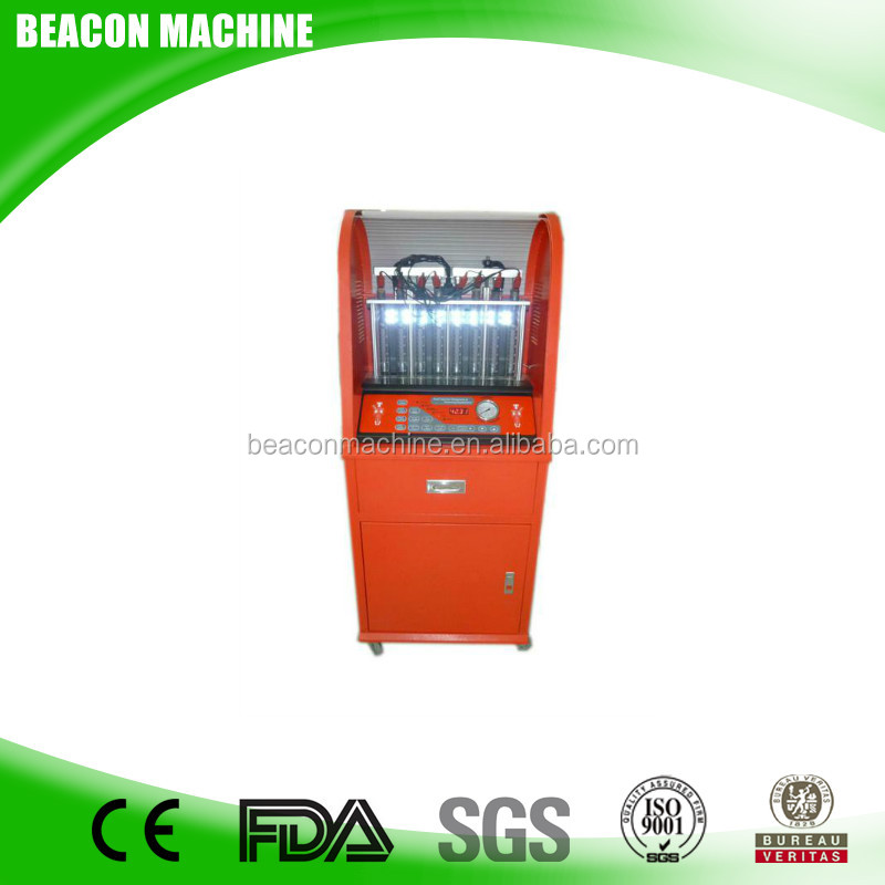2017 new design BC-8T with eight Max Detector Cylinder gasoline fuel injector tester and cleaner