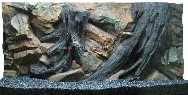 Aquarium Root Background Real 3d No Foam Buy Aquarium
