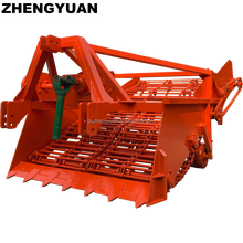 Agricultural Equipment Tractor Mounted Double Row Cassava Harvester