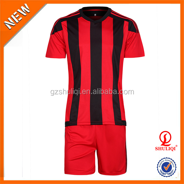 Wholesale eco-friendly unique style custom soccer jersey with cheap price H-680
