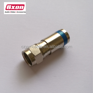 Factory Price RG6 Compression F Connector for CCTV Camera