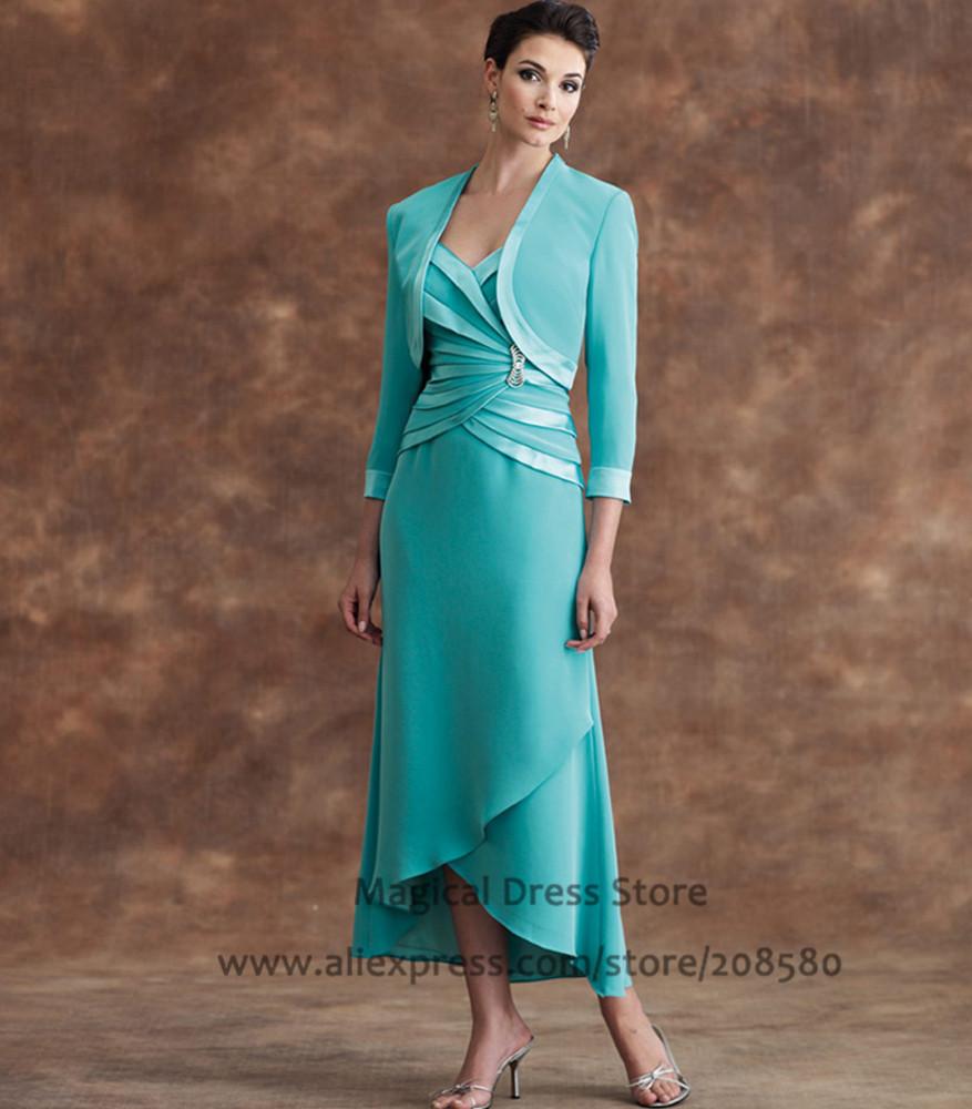 e41530061d8 Chiffon Tea Length Mother Of The Bride Dresses - Data Dynamic AG
